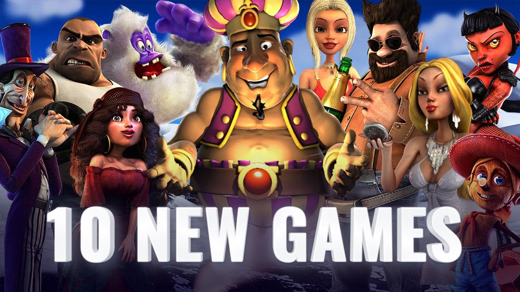 10 NEW Betsoft Games